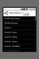Screenshot of AntaraNews (unofficial)