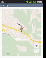 Screenshot of GPS Trip