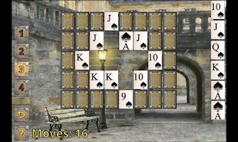 Screenshot of Brick Spider Solitaire HD