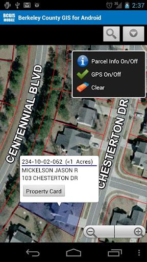 Berkeley County SC GIS Mobile