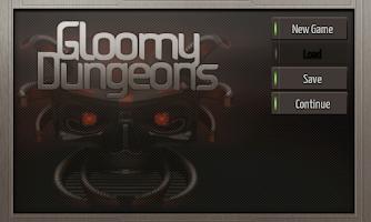 Screenshot of Gloomy Dungeons 3D