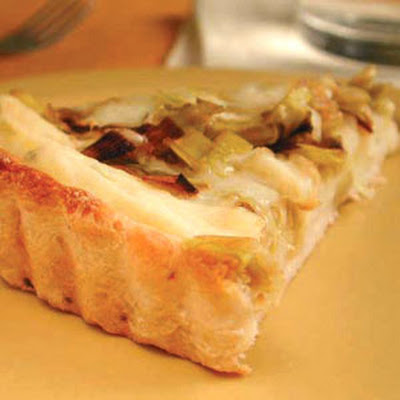 Leek, Potato, and Fontina Tart