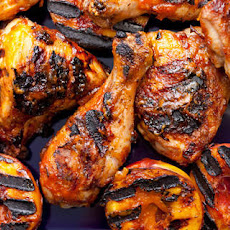 Grilled Chicken with Nectarine Barbecue Sauce Recipe
