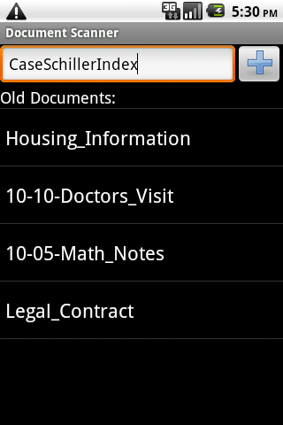 document-scanner for android screenshot