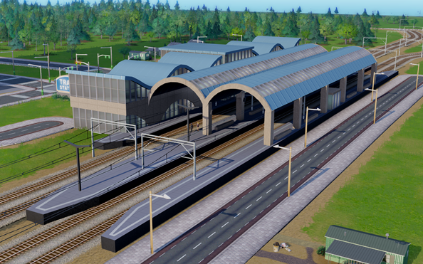 First mod, Central Train Station,  arrives for SimCity
