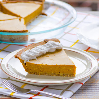 Clean Pumpkin Pie
