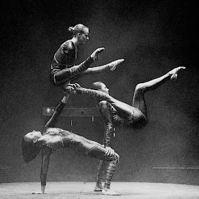 Circus Hand Balancing Acrobats by Stephen Beatty - News & Events Entertainment (  )