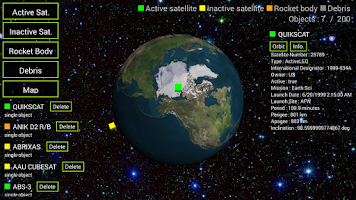 Screenshot of Satellite 3D