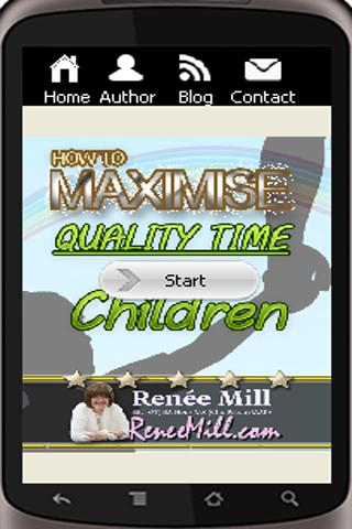 Maximise quality time for kids