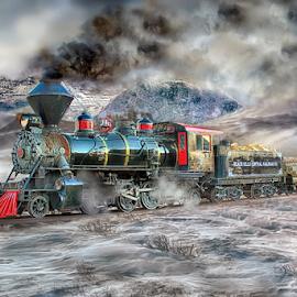 Winter Wonder Land by Nickel Plate Photographics - Transportation Trains