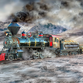 Winter Wonder Land by Nickel Plate Photographics - Transportation Trains