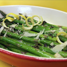 Roasted Asparagus With Sage and Lemon Butter