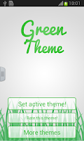 Screenshot of Keyboard Green Theme