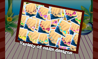 Screenshot of Toe Nail Art – Girls Game