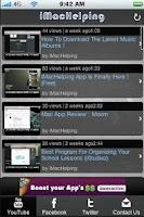 Screenshot of iMacHelping App