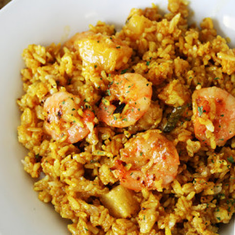 Thai Shrimp and Pineapple Fried Rice