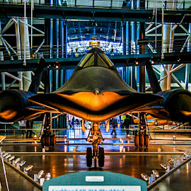 Zoom by Steve Marra - Transportation Airplanes ( national air and space museum, sr-71 )