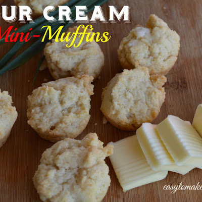Sour Cream Mini-Muffins