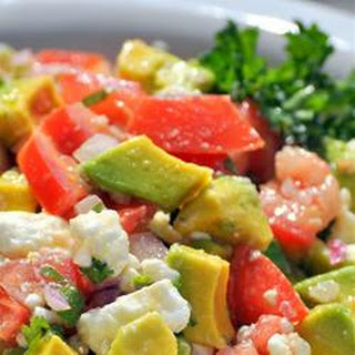 chili and tomato feta salsa feta salsa chunky avocado and feta dip ...