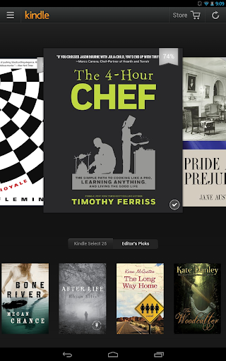 kindle for android screenshot