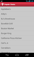 Screenshot of Find Me Gluten Free