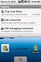 Screenshot of 1Tap Task Killer