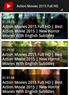 Action Movie Channel - screenshot