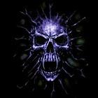 3D skull 11 icon