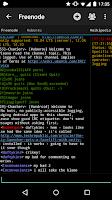 Screenshot of Yaaic - IRC Client
