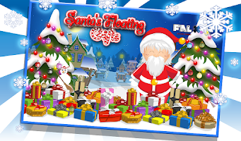 Screenshot of Santa Floating Gifts