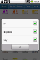 Screenshot of Guida Tv Free