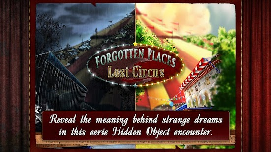 Forgotten Places: Lost Circus- screenshot thumbnail
