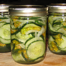 Grandma's Spicy Sweet Pickles