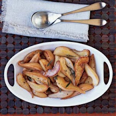 Caramelized Rosemary Pears