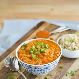 Y Coconut Curry Red Lentil Soup
