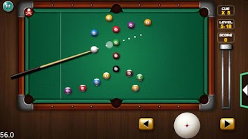 Screenshot of Pocket Pool Pro