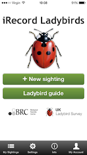 iRecord Ladybirds - screenshot