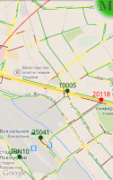 Screenshot of Vtaxi.info drivers+taximeter