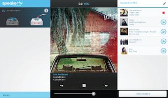Screenshot of Speakerfy