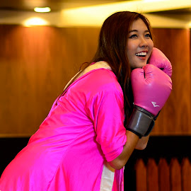 Pretty in Pink by Jai Dominado - Sports & Fitness Boxing