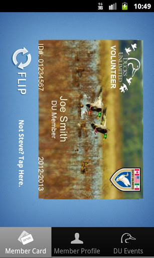 Ducks Unlimited Membership App
