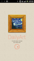 Screenshot of DailyArt - Daily Dose of Art