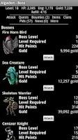 Screenshot of Algadon Medieval Web Game