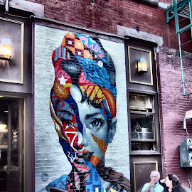 Wall Art NYC by Darren Harrison - City,  Street & Park  Neighborhoods ( wall art, cafe, new york city, nyc )