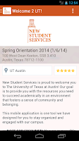 Screenshot of UT Austin Orientation