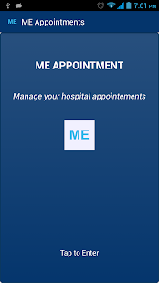 ME Appointments - screenshot