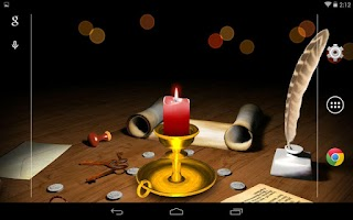 Screenshot of 3D Melting Candle