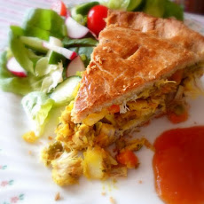 Chicken Samosa Pie