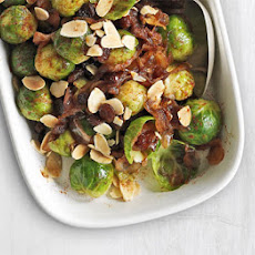 Sprouts With Sticky Shallots