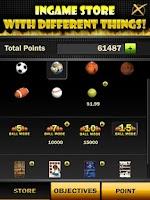 Screenshot of Basketball Arcade Game